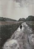 """""""Chaque pas sur le route raconte une histoire"""" Dessin. Format : 28x40. 1993"""